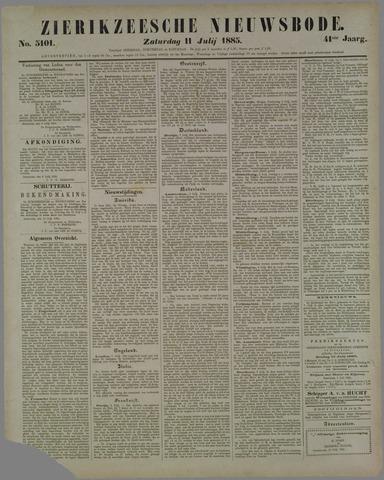 Zierikzeesche Nieuwsbode 1885-07-11