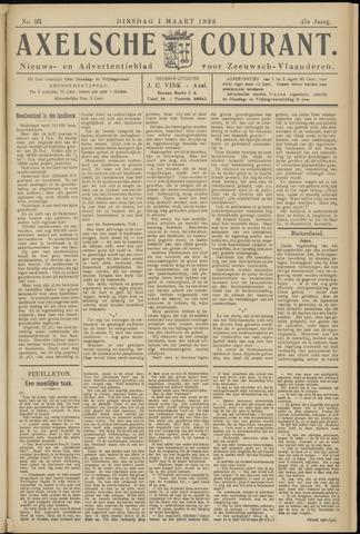 Axelsche Courant 1932-03-01