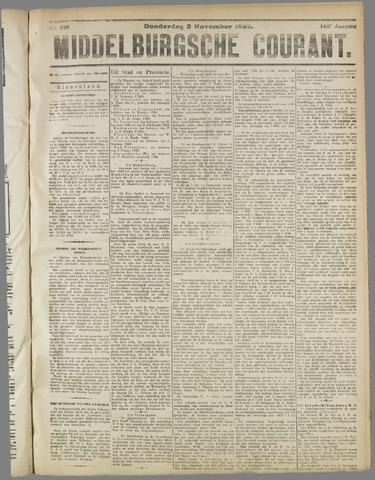 Middelburgsche Courant 1922-11-02