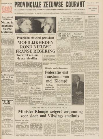 Provinciale Zeeuwse Courant 1969-06-20