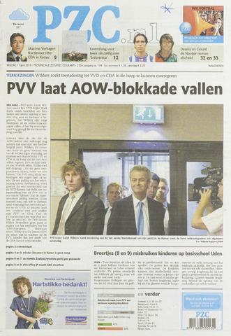 Provinciale Zeeuwse Courant 2010-06-11