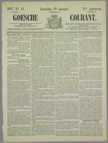 Goessche Courant 1887-01-29