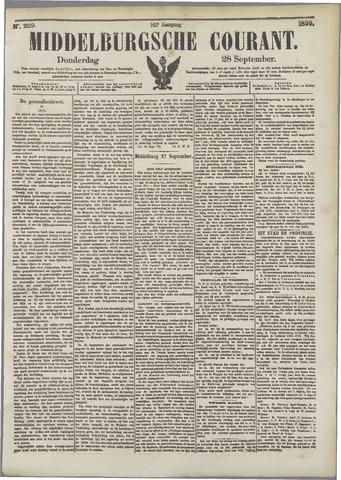 Middelburgsche Courant 1899-09-28
