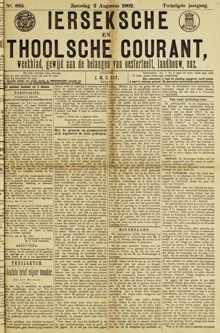 Ierseksche en Thoolsche Courant 1902-08-02