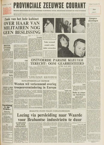 Provinciale Zeeuwse Courant 1972-11-17