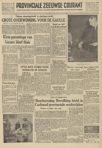 Provinciale Zeeuwse Courant 1958-09-29