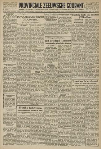 Provinciale Zeeuwse Courant 1946-04-10