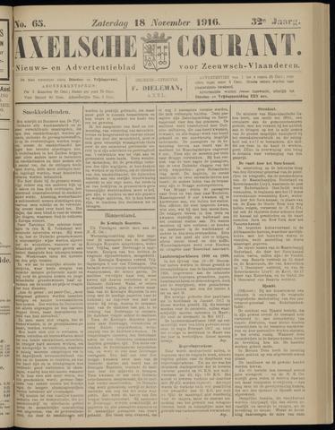 Axelsche Courant 1916-11-18