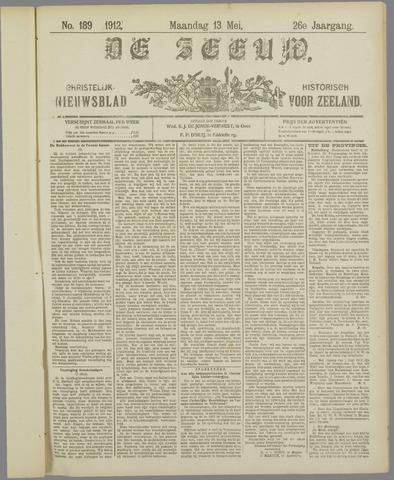 De Zeeuw. Christelijk-historisch nieuwsblad voor Zeeland 1912-05-13