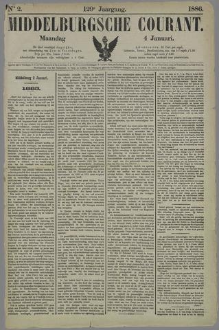 Middelburgsche Courant 1886