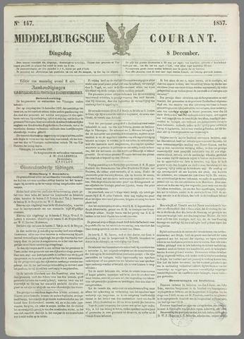 Middelburgsche Courant 1857-12-08