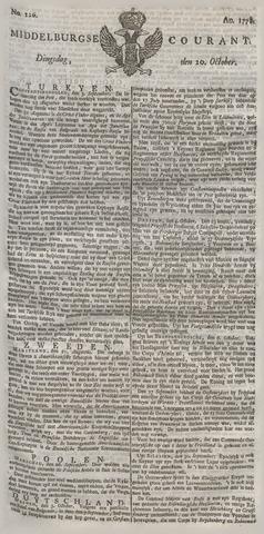 Middelburgsche Courant 1778-10-20