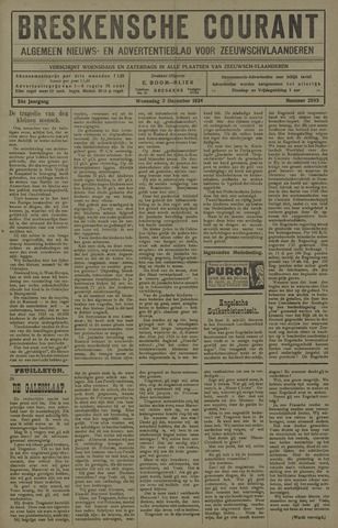 Breskensche Courant 1924-12-03