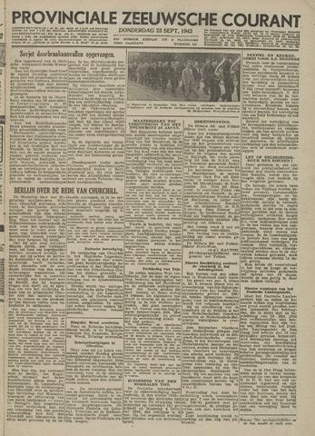 Provinciale Zeeuwse Courant 1943-09-23