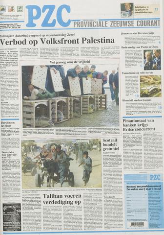 Provinciale Zeeuwse Courant 2001-10-22