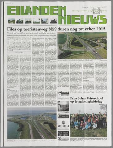Eilanden-nieuws. Christelijk streekblad op gereformeerde grondslag 2007-04-20