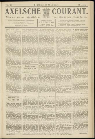 Axelsche Courant 1928-07-31
