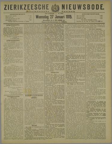 Zierikzeesche Nieuwsbode 1915-01-27