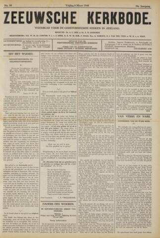 Zeeuwsche kerkbode, weekblad gewijd aan de belangen der gereformeerde kerken/ Zeeuwsch kerkblad 1940-03-08