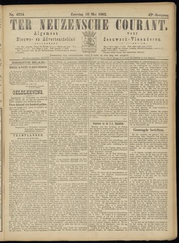 Ter Neuzensche Courant. Algemeen Nieuws- en Advertentieblad voor Zeeuwsch-Vlaanderen / Neuzensche Courant ... (idem) / (Algemeen) nieuws en advertentieblad voor Zeeuwsch-Vlaanderen 1902-05-10