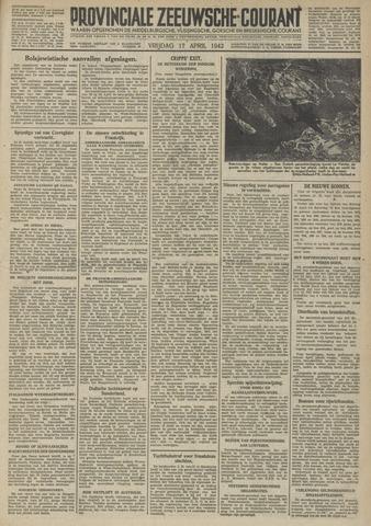 Provinciale Zeeuwse Courant 1942-04-17