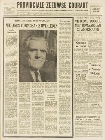 Provinciale Zeeuwse Courant 1965-02-11