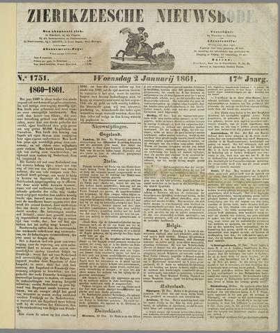 Zierikzeesche Nieuwsbode 1861