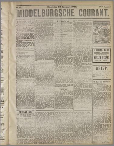Middelburgsche Courant 1922-01-23