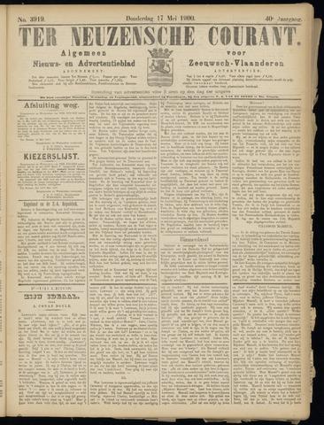 Ter Neuzensche Courant. Algemeen Nieuws- en Advertentieblad voor Zeeuwsch-Vlaanderen / Neuzensche Courant ... (idem) / (Algemeen) nieuws en advertentieblad voor Zeeuwsch-Vlaanderen 1900-05-17