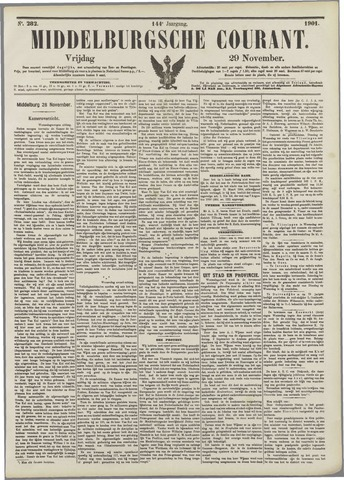 Middelburgsche Courant 1901-11-29