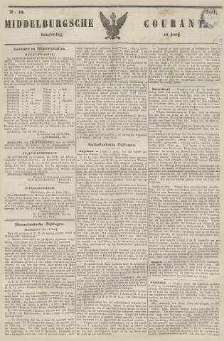 Middelburgsche Courant 1851-06-12