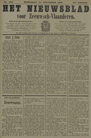 Nieuwsblad voor Zeeuwsch-Vlaanderen 1900-11-28
