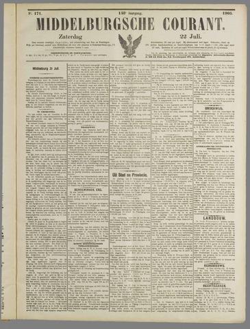 Middelburgsche Courant 1905-07-22