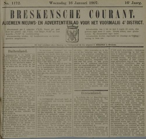 Breskensche Courant 1907-01-16