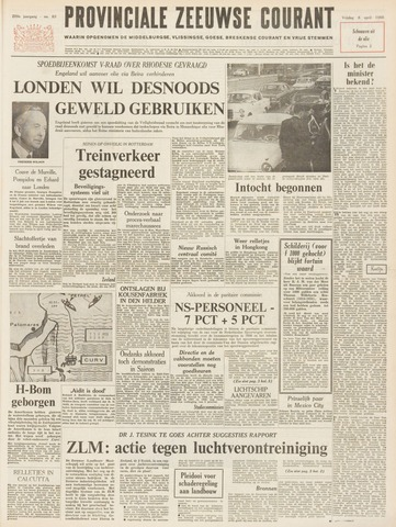 Provinciale Zeeuwse Courant 1966-04-08