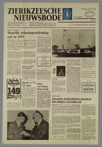 Zierikzeesche Nieuwsbode 1975-06-26