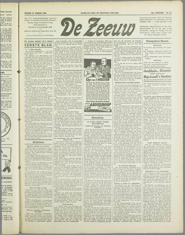 De Zeeuw. Christelijk-historisch nieuwsblad voor Zeeland 1934-01-19