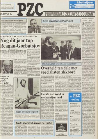 Provinciale Zeeuwse Courant 1986-04-09