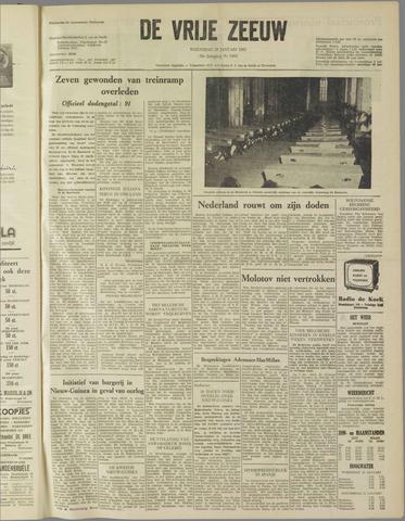 de Vrije Zeeuw 1962-01-10