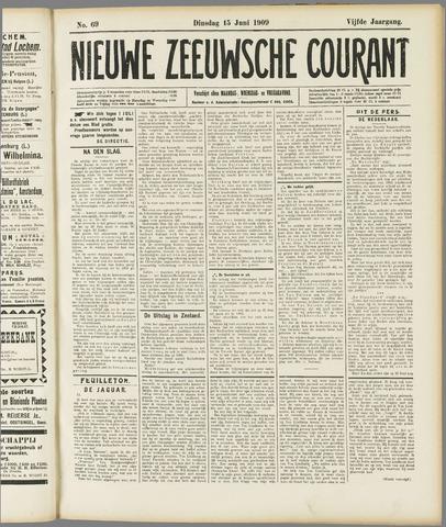 Nieuwe Zeeuwsche Courant 1909-06-15