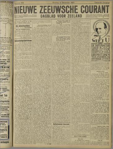 Nieuwe Zeeuwsche Courant 1920-12-21