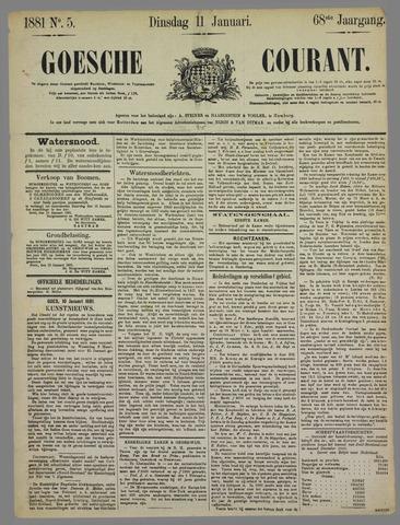 Goessche Courant 1881-01-11
