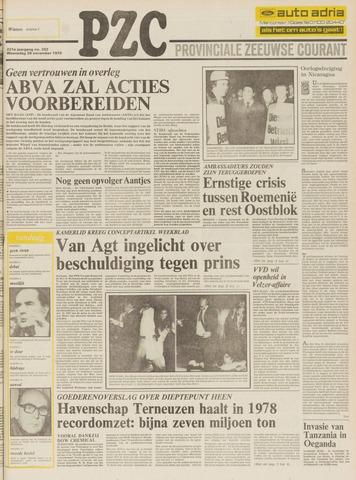 Provinciale Zeeuwse Courant 1978-11-29