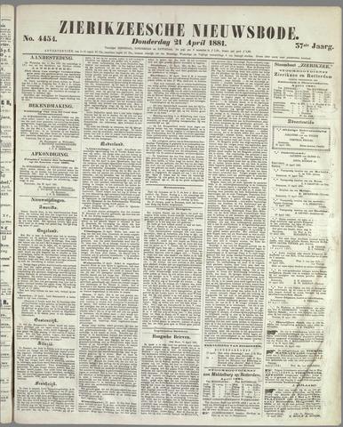 Zierikzeesche Nieuwsbode 1881-04-21
