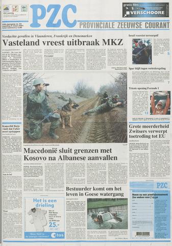 Provinciale Zeeuwse Courant 2001-03-05