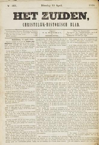 Het Zuiden, Christelijk-historisch blad 1880-04-10