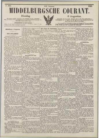 Middelburgsche Courant 1901-08-06