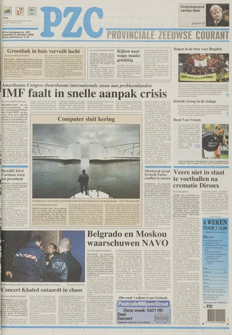 Provinciale Zeeuwse Courant 1998-10-05