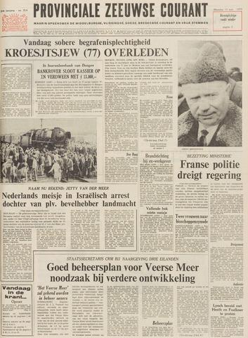 Provinciale Zeeuwse Courant 1971-09-13