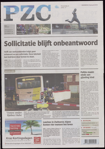 Provinciale Zeeuwse Courant 2014-01-06